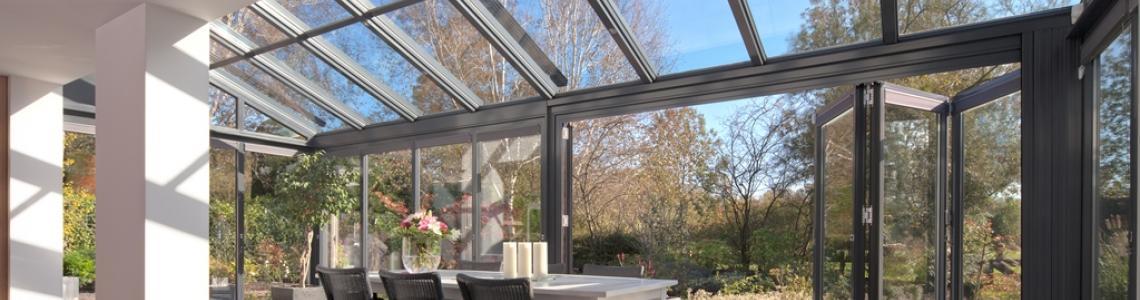 Solarlux serres vouwwanden tuinkamers terrasoverkappingen